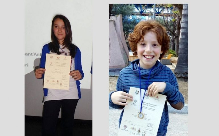 Campionati Internazionali Di Giochi Matematici I Due Alunni