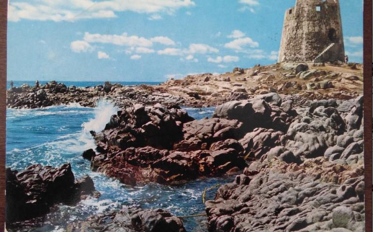 Immagini dal passato. Bari Sardo in una cartolina del 1972