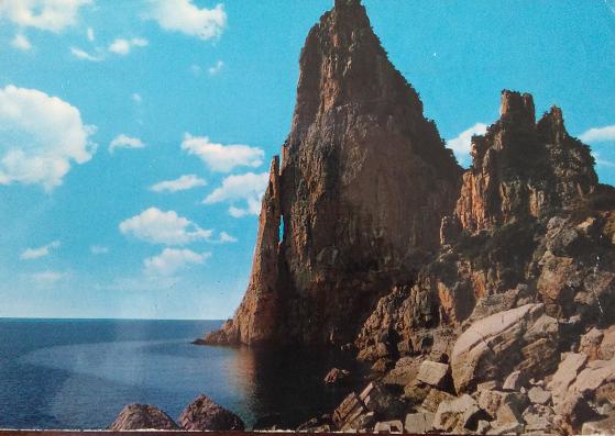 Immagini dal passato. Una cartolina di Baunei del 1975