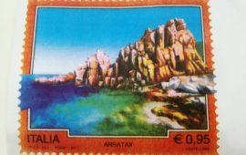 Arbatax, il 31 luglio la presentazione ufficiale del francobollo dedicato agli Scogli Rossi, unico dedicato alla Sardegna nel 2017