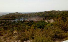 Incendio a Perdas, in azione l'elicottero della Forestale da San Cosimo