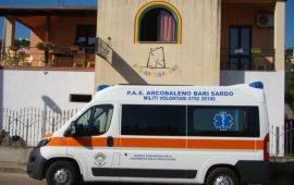 """La PAS Arcobaleno di Bari Sardo si dota di una nuova ambulanza.  Laura Di Fede: """"Grazie alla generosità dell'Ogliastra"""""""
