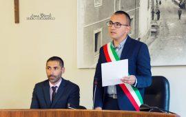 Il sindaco di Bari Sardo Ivan Mameli ( foto Ivana Barrili)