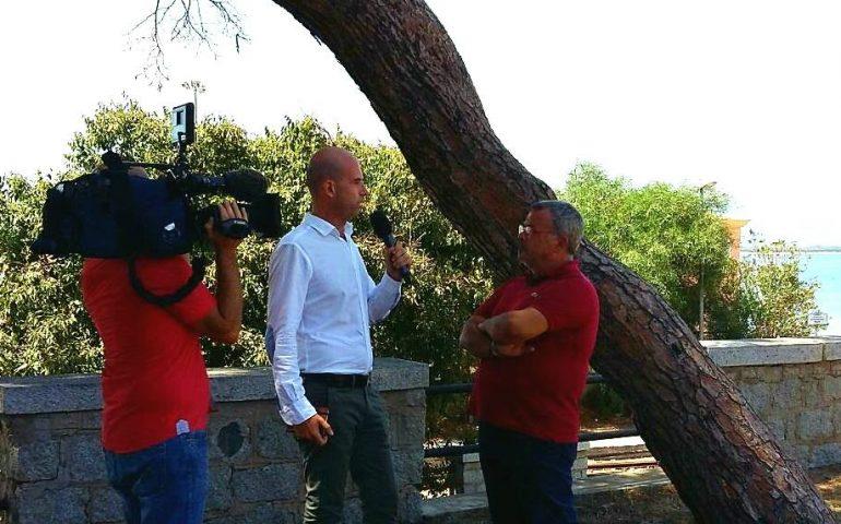 Al telegiornale regionale delle 14 la diretta Rai da Arbatax per lo stop al Trenino Verde