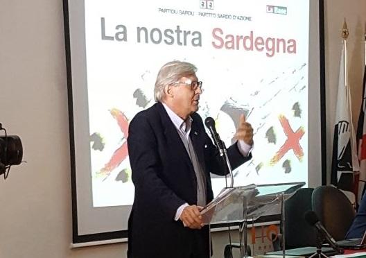 Villagrande: convegno del Psd'az, tra gli ospiti Vittorio Sgarbi