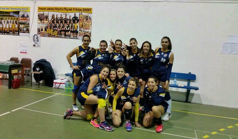 Nuova vittoria per le ragazze della Pro Volley Villanovese: 3 a 1 contro la Stella Azzurra Sestu