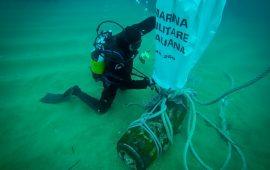 Capo San Lorenzo, ordigno esplosivo rimosso dalle reti di un peschereccio dai Palombari del nucleo SDAI