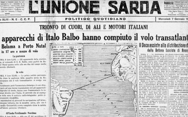 Accadde oggi. Il 6 gennaio 1931 moriva Luigi Fois, eroe della Trasvolata Atlantica