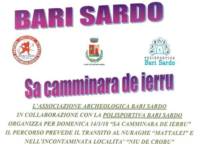 "Bari Sardo, appuntamento domani con ""Sa Camminara de ierru"""