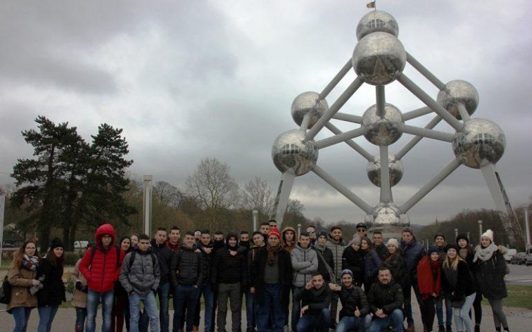 Gli studenti dell'ITC a Bruxelles, tra laboratori e visite culturali (PHOTOGALLERY)