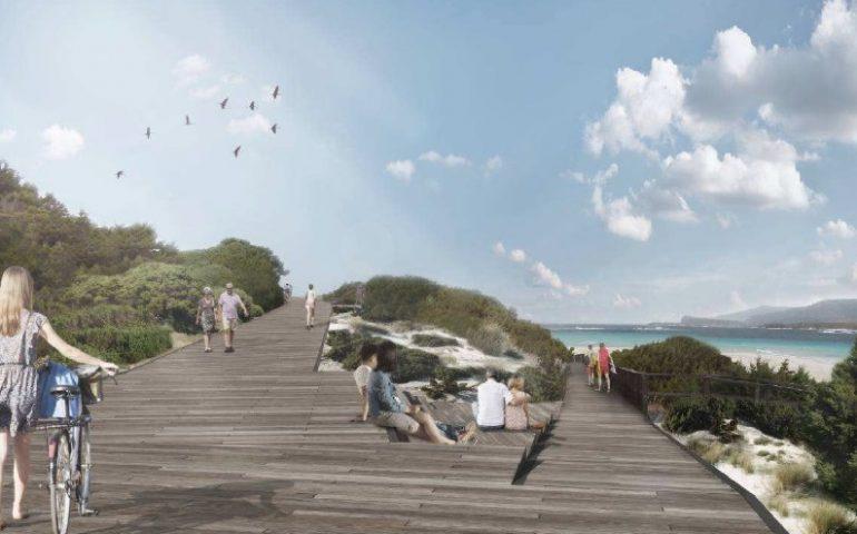 Stintino, rivoluzione ecologica a La Pelosa: cambia volto una delle spiagge più belle della Sardegna
