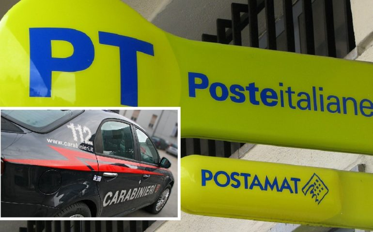 Rapina all'ufficio postale di Onifai, i Carabinieri arrestano i malviventi
