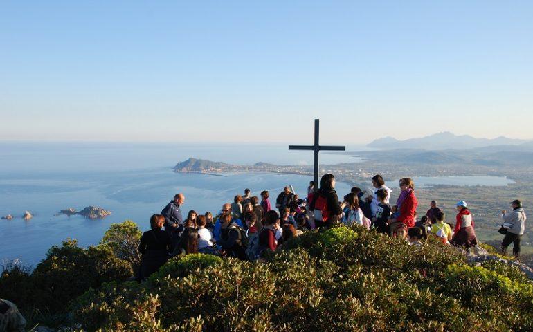 Santa Maria Navarrese, Via Crucis al Monte Pittaine su un percorso trekking della Sardegna