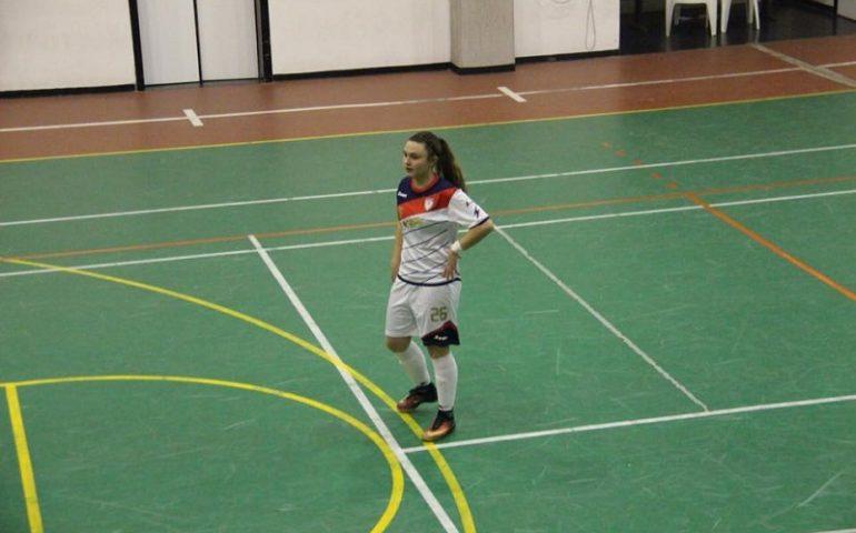 Calcio. La jerzese Marika Saba vola in Abruzzo per il Torneo delle Regioni, l'in bocca al lupo delle Foghesu Girls