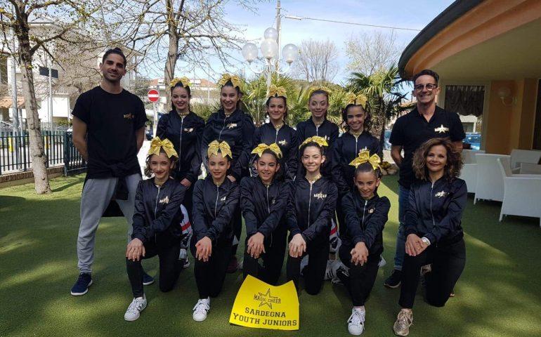 Cervia, le Cheerleaders di Tortolì conquistano il secondo posto al Mirabilandia Competition