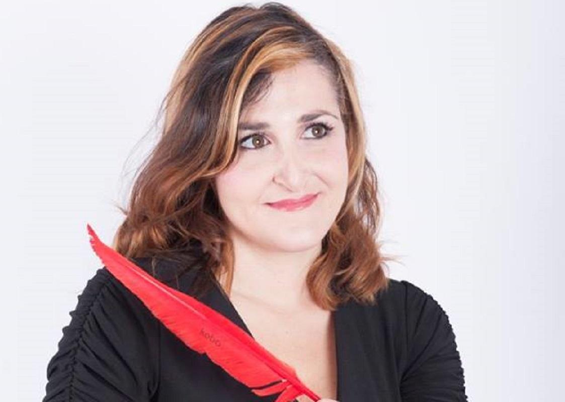 La scrittrice Emma Fenu
