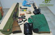 Operazione antibracconaggio, due persone di Teulada denunciate