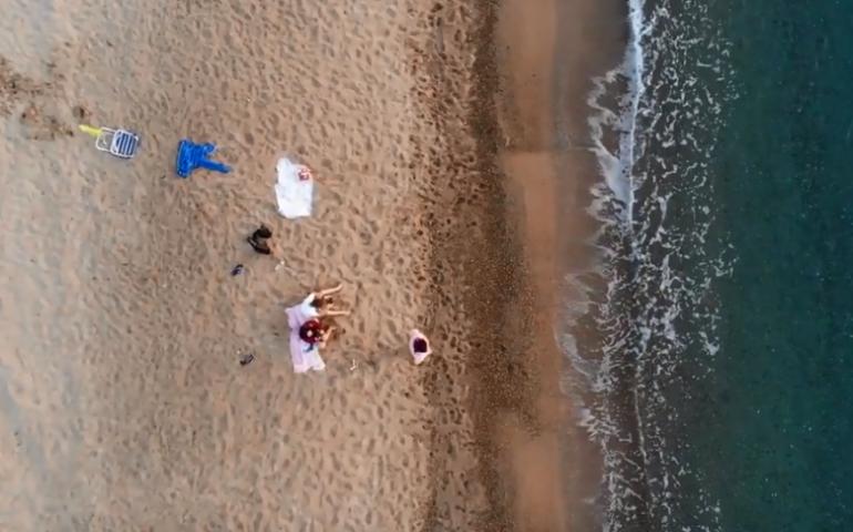Il volo del drone sul paradiso ogliastrino. Il VIDEO di Marco Ferrito incanta il web