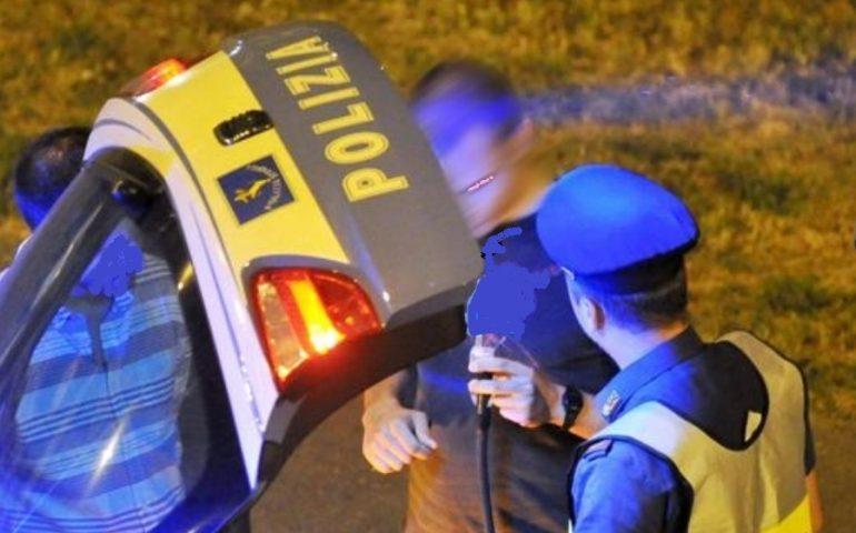 Guida in stato di ebbrezza, nel weekend a Nuoro 73 le persone controllate dalla Polizia