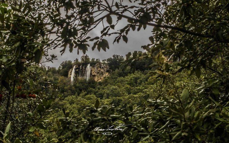 Le foto dei lettori. Le cascate di Ussassai durante la pioggia