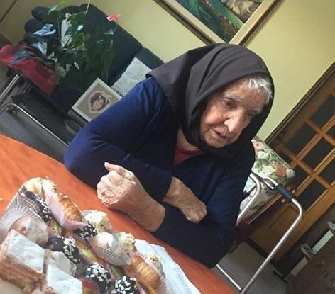 Ogliastra terra di longevità. Oggi Talana festeggia i 96 anni di Zia Serafina Murru