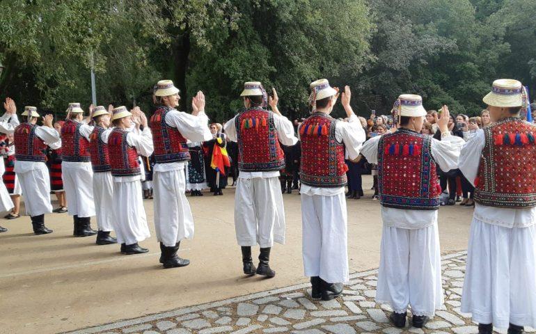 (FOTO) A Villagrande l'Ogliastra incontra la Romania