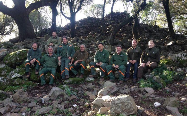 Collaborazione tra Forestas e Baunei: ripresi i lavori delle aree dei nuraghi Co'e Serra, Alvu-Genn'e Sarmentu e Orgoduri