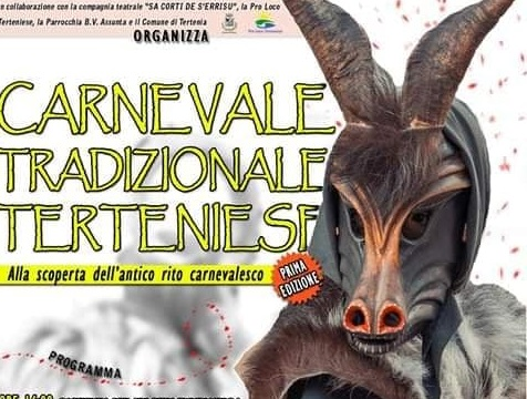 Il carnevale tradizionale di Tertenia: pronti per riscoprire l'antico rito? ( PROGRAMMA)