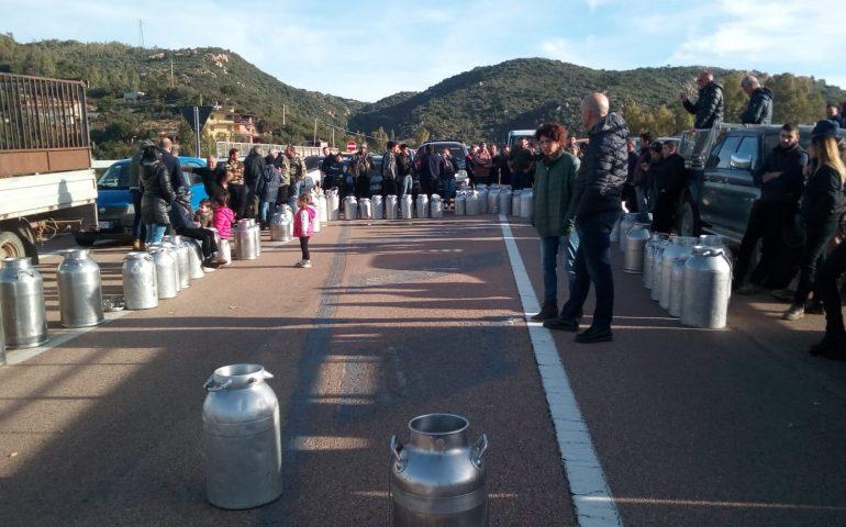 Cardedu, la strada si prepara a colorarsi di bianco: la protesta dei pastori in Ogliastra