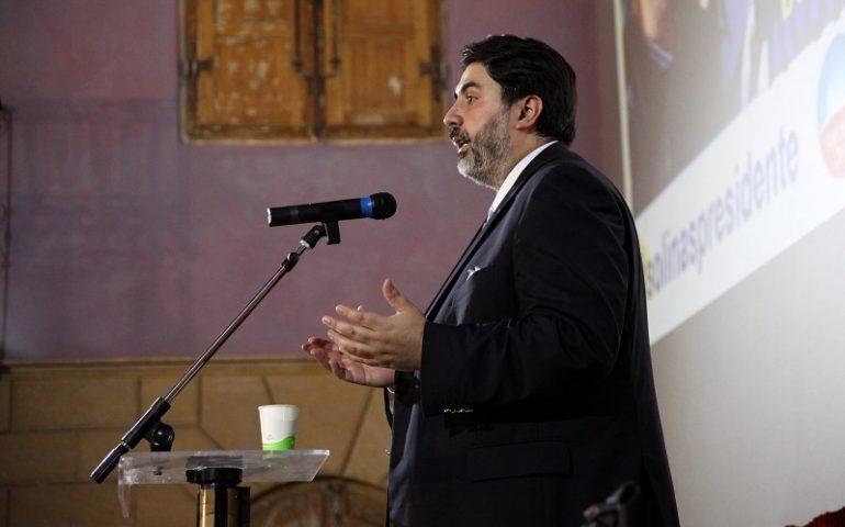 Christian Solinas a Tortolì, con il centrodestra compatto. Criticità e risorse ogliastrine al centro del dibattito