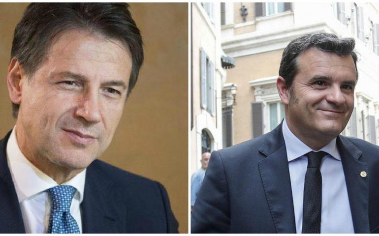 Il premier Conte e il ministro Centinaio a Cagliari: Prefettura blindata