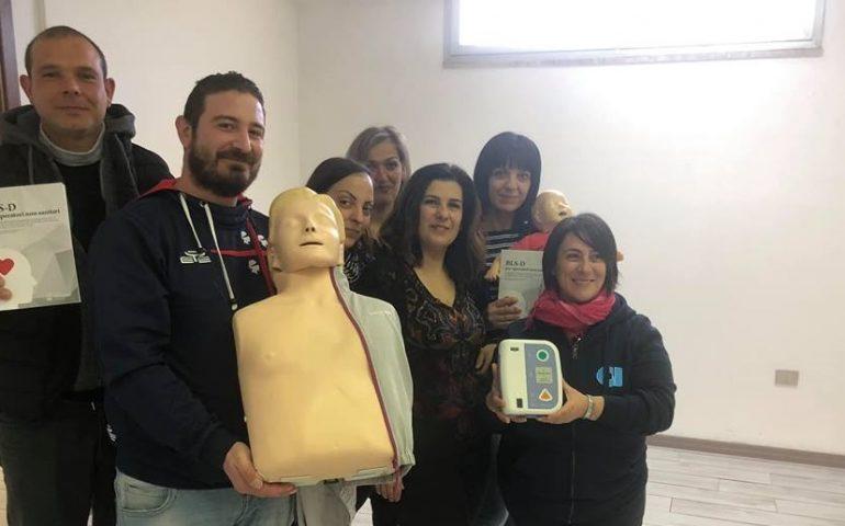 Obiettivo, salvare vite: le guardie Anpana Nuoro-Ogliastra aggiungono al loro pacchetto il corso BLS-D a