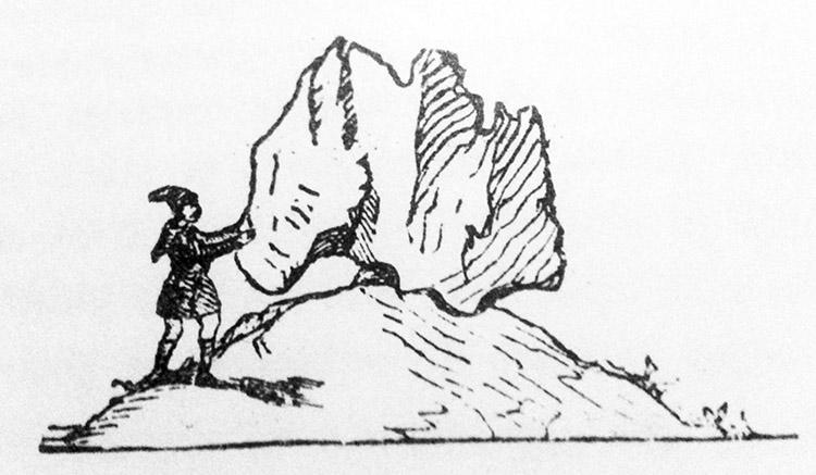 """Leggende sarde. La danza de """"Sa preda ballerina"""": storia di un vecchio e meraviglioso monumento naturale"""