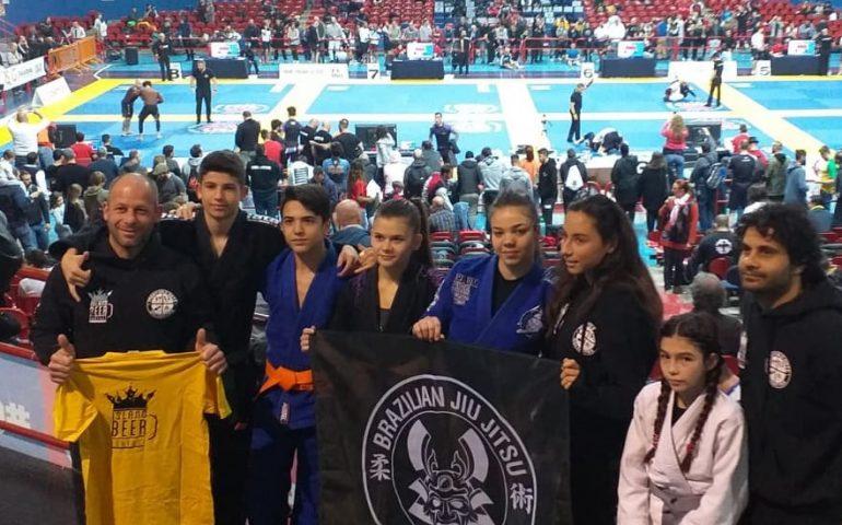 Torneo nazionale di Brazilian Jiu Jitsu: a Montecatini pioggia di medaglie per gli atleti ogliastrini