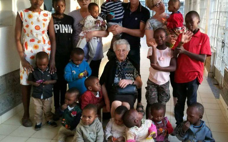 Nonna Irma è arrivata in Kenia: ecco le foto dall'orfanotrofio