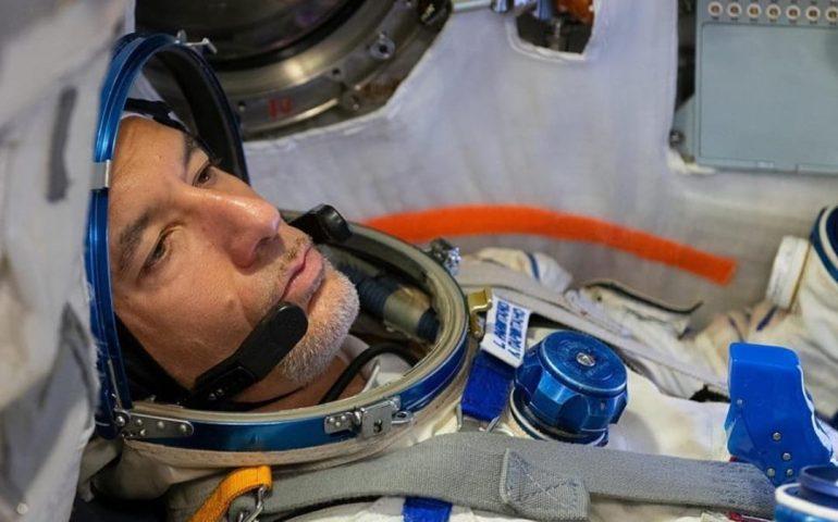 Parmitano è in viaggio: l'astronauta siciliano in rotta verso la Luna