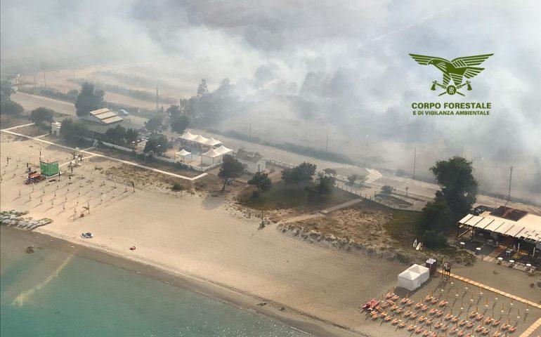 Sugli incendi cha a luglio hanno devastato l'Ogliastra il punto della situazione del Corpo forestale e di vigilanza ambientale