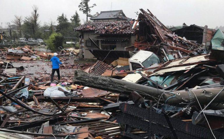 Il tifone Hagibis devasta il Giappone: 19 morti e 16 dispersi