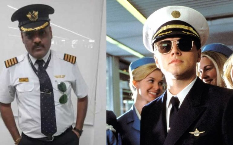 """India, si vestiva da pilota per viaggiare gratis come nel film """"Prova a prendermi"""""""