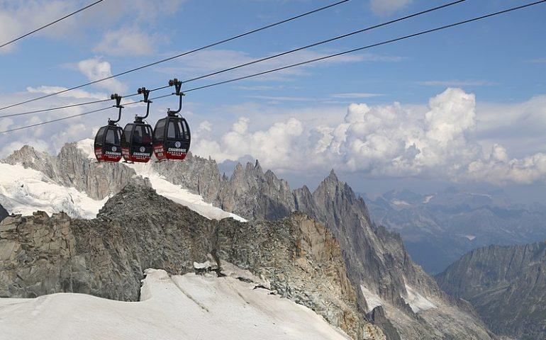 Slavina sul Monte Bianco: due sciatori muoiono a 3.000 metri
