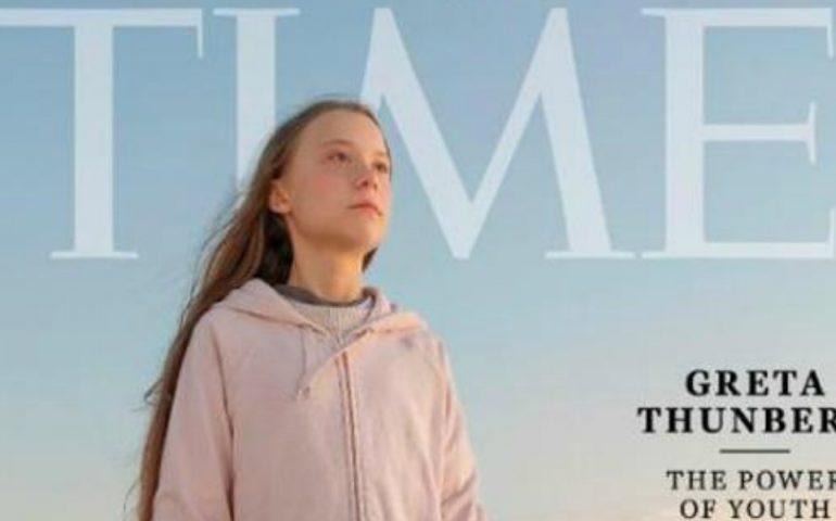 """Greta Thunberg """"Persona dell'anno 2019"""" di Time: è la più giovane di sempre"""
