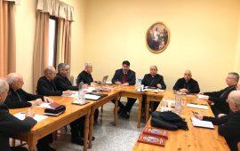 Incontro a Cagliari tra il Presidente Solinas e i componenti della Conferenza episcopale sarda.