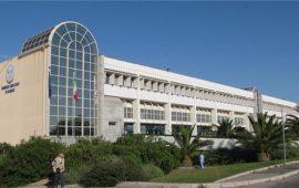 Fotografia dell'edificio del Policlinico Universitario di Monserrato.