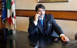 Un'immagine del Governatore della Sardegna Christian Solinas.