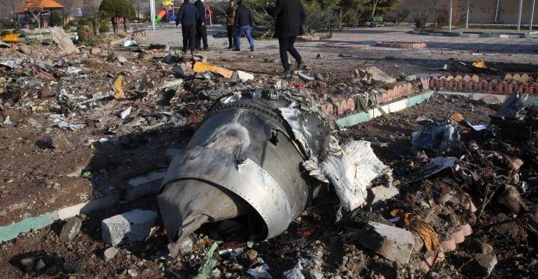 """Aereo ucraino abbattuto, l'Iran ammette: """"È stato un nostro missile"""""""