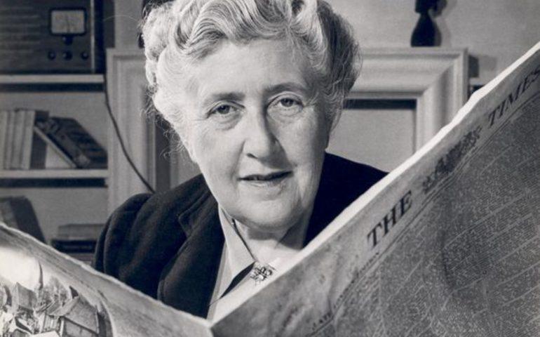 """Accadde Oggi. Il 12 gennaio 1976 morì la """"signora in giallo"""" Agatha Christie"""