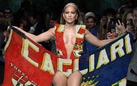 Fotomontaggio sui social diventato virale, dopo l'invito a Jennifer Lopez - da parte del sindaco Truzzu - di trasferirsi a Cagliari.