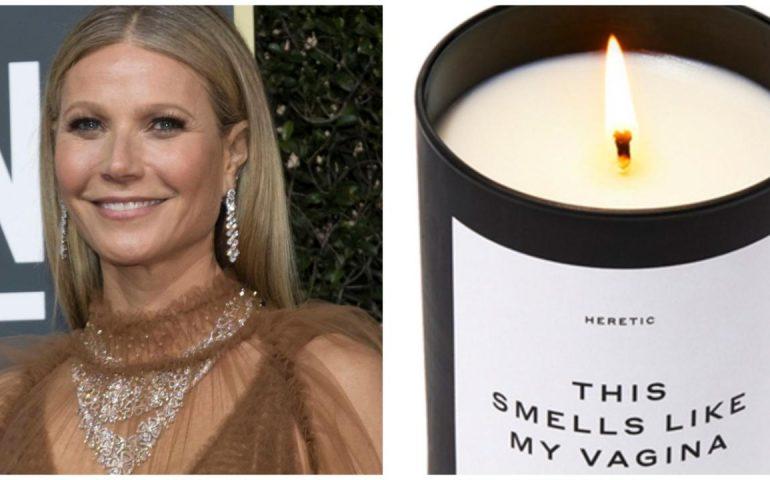 La trovata di Gwyneth Paltrow: una candela all'odore delle sue parti intime