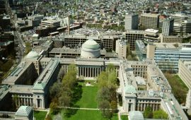Foto dall'alto, del Massachusetts Institute of Technology.