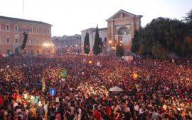 Immagine di repertorio del concerto del Primo Maggio a Roma.